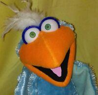 Professional Pro Muppet Type Ventriloquist Puppet Vent Figure Dummy Blue Bird