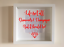 IKEA-RIBBA-Box-Frame-Personalised-Vinyl-Wall-Art-Quote-Life-isnt-all-about thumbnail 5