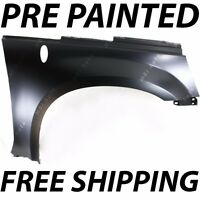 Painted To Match - Passengers Right Front Fender For 2005 2006 Chevy Equinox