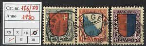 Svizzera-1920-Pro-Juventute-nn-176-178-usata