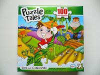 Puzzle Tales jack And The Beanstalk 100 Piece Jigsaw Puzzle Bnib 5+