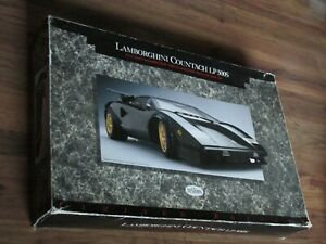 Testors 1/12 Lamborghini Countach LP 500S Doyusha lp500s otaki plastic model kit