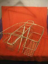 "22x18x11/"" Steel Rear Wire Trike Tricycle Basket White"