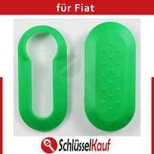 Fiat Schale Autoschlüssel Grün Punto 500 Bravo Dablo Cover Green Schutz Hülle