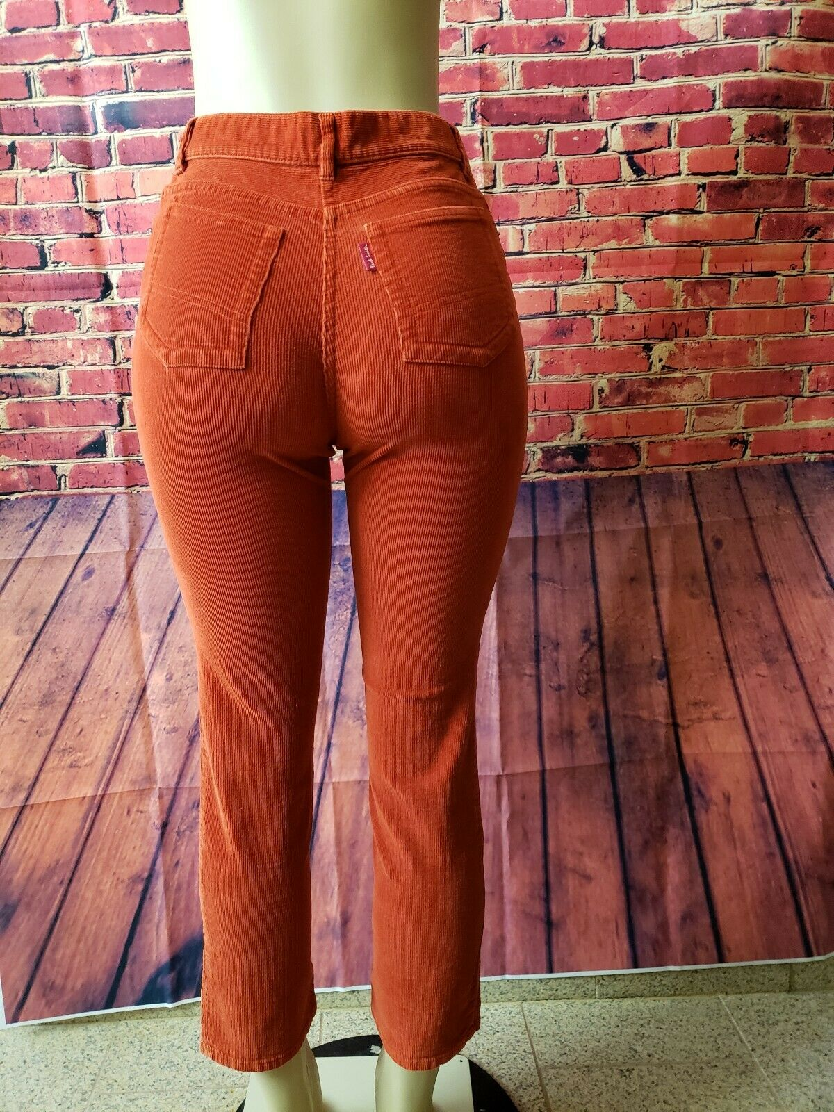 PAUL SMITH  Corduroy Trousers Red pants Size US 10