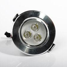 3W Weiß LED Einbauleuchte Einbau Strahler Leuchte Spot Lampe Decken Licht Neu
