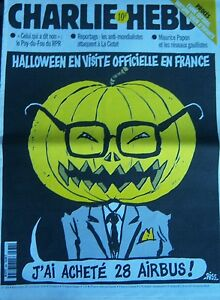 Charlie-View-No-384-Octobre-1999-Riss-Halloween-Visiting-Official-in-France