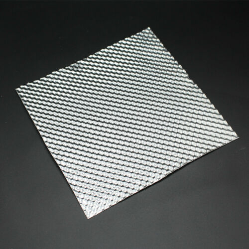 GII G2 Embossed Aluminium Heat Shield Material Simgle Layer Sheet Exclusive NEW