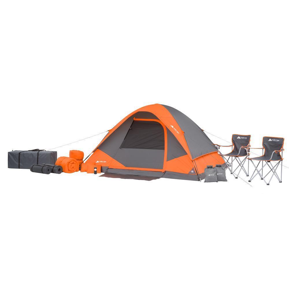 Accesorios para camping tiendas de campaña fuentes de equipos de engranajes Ozark Trail tiendas de campaña 22 PC nuevo