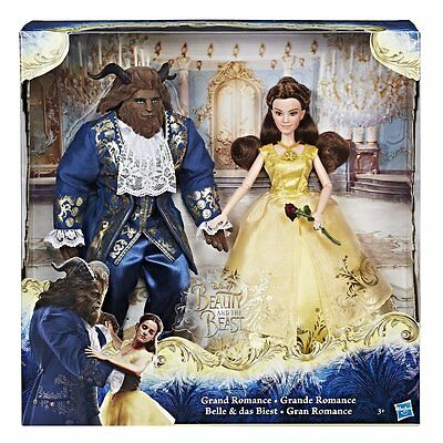 Disney Princess Bambole La Bella e la Bestia Hasbro Nuovo