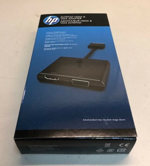 HP ELITEPAD HDMI VGA ADAPTER WINDOWS 7 X64 DRIVER