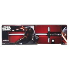 STAR WARS 7 Spada Laser KYLO REN Luci Suoni HASBRO Disney ULTIMATE FX Lightsaber
