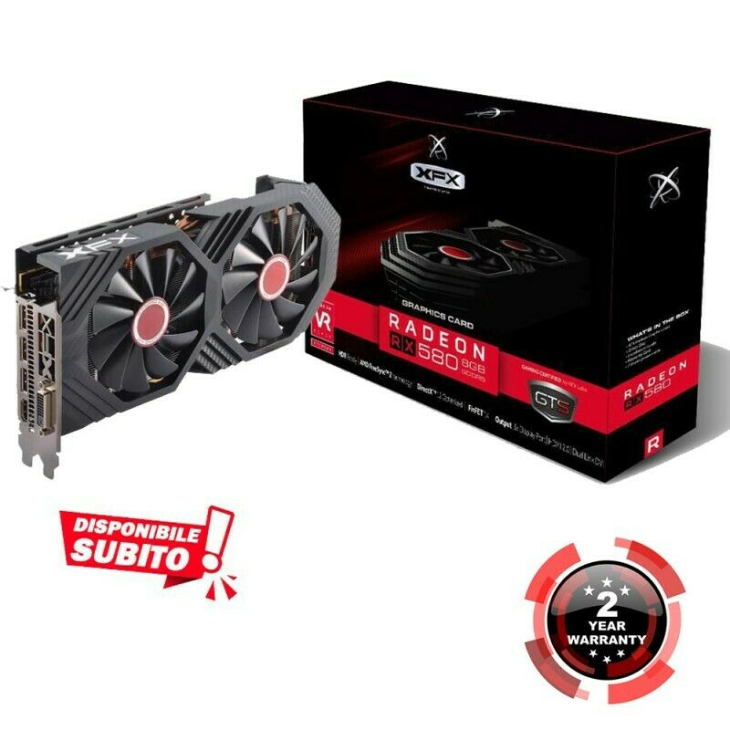 Gaming graphics video card amd xfx mining rx 580 8gb boost oc + apex cold war