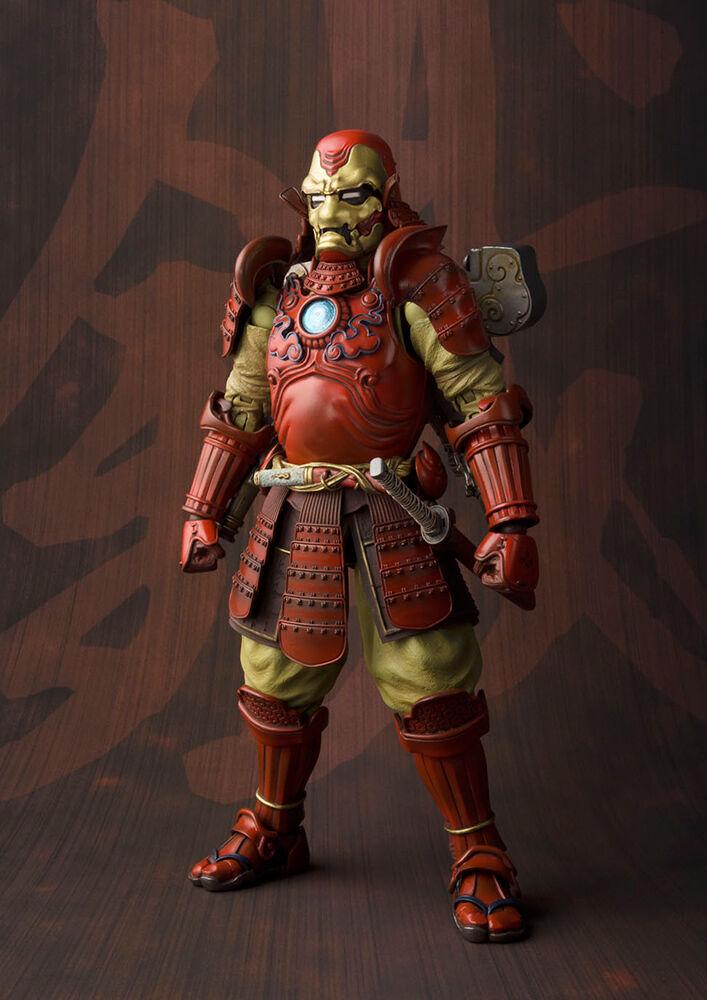 Samurai irán Man Mark 3 Mk III Marvel Movie realization Figura Tamashii Nations