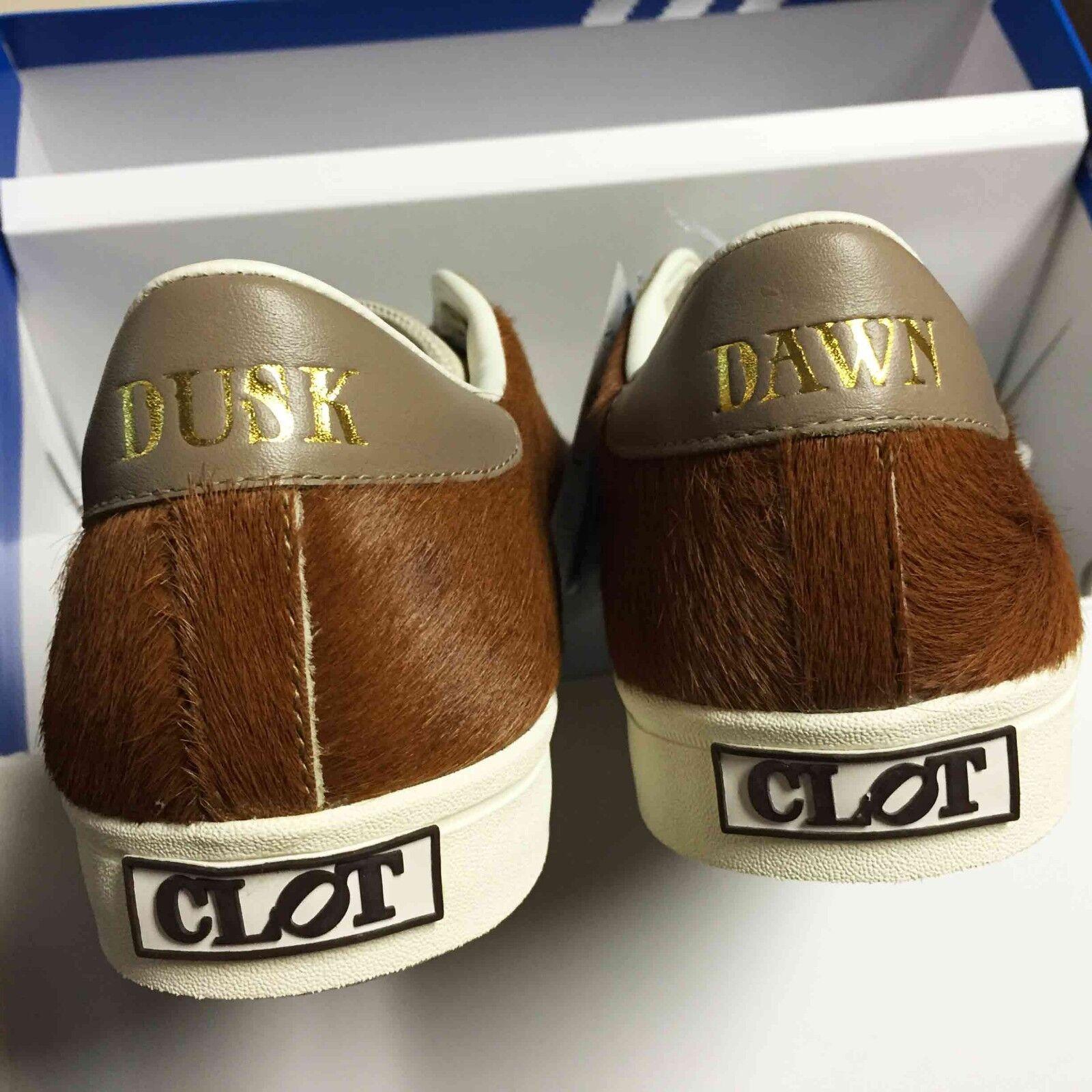 180 Adidas x CLOT ACU Rod Laver Vintage Stan Smith Pony Hair Consortium G15461