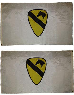 US Army 1st Cavalry Division Black Flag 3/'x5/' Nylon U.S