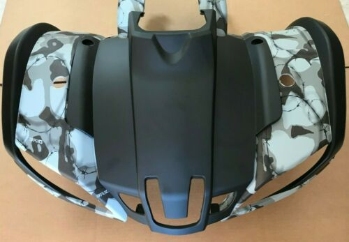 ATV Plastic Body Bumper 150cc 250cc Coolster Utility ATV-3150DX-2 Army Gray Camo