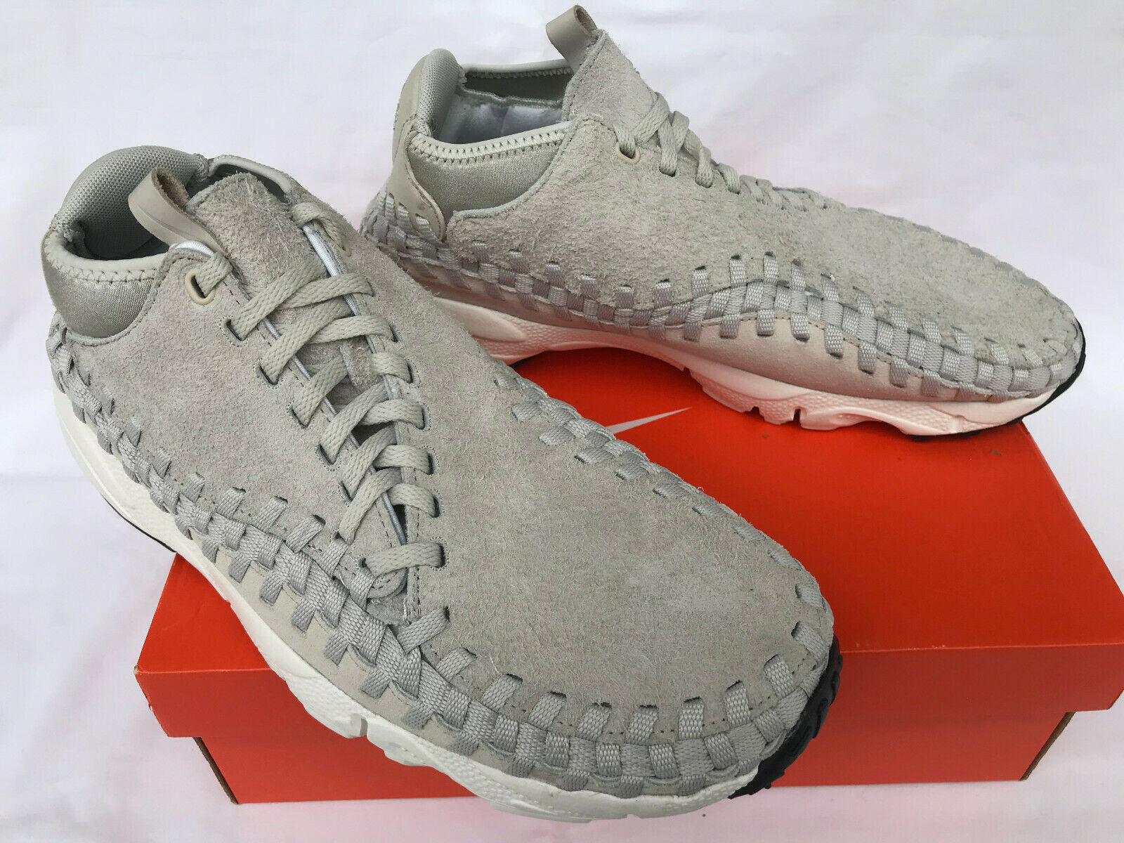 Nike Air Footscape Woven Chukka QS 913929-002 Suede NSW Sneaker shoes Men's 11.5
