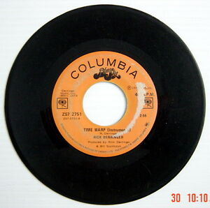 ONE-1973-039-S-45-R-P-M-RECORD-RICK-DERRINGER-ROCK-AND-ROLL-HOOCHIE-KOO-TIME-WA