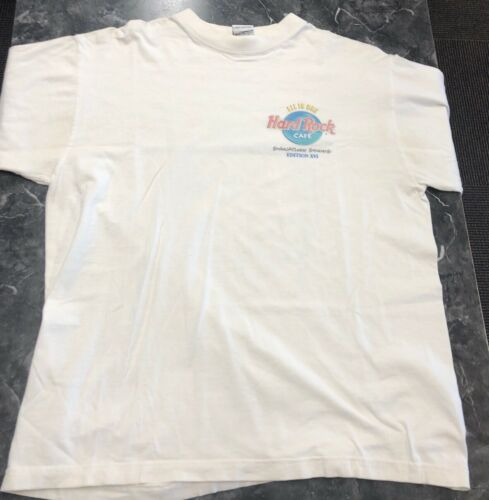 Vintage T Shirt - The Hard Rock Cafe All Is one Ca