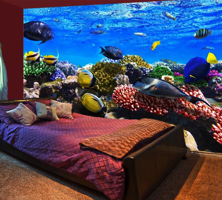 3D Farbeful Sea Floor 2297 Paper Wall Print Wall Decal Wall Deco Indoor Murals