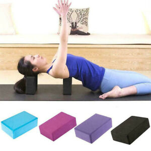 eva fitness yoga pilates foam fitness stretch aid blocks