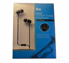 Radiopaq Custom Tuned Jazz Earphones For iPhone 4 4S 5 5S Samsung Smartphones