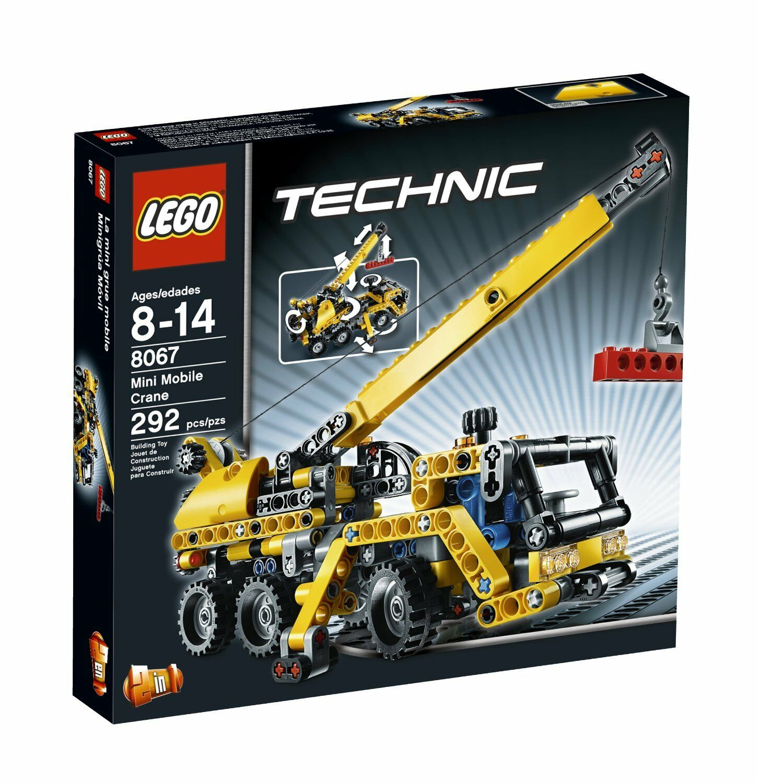 LEGO Technic 8067 Mini-Mobil Crane 292 Pieces Nuovo Sealed