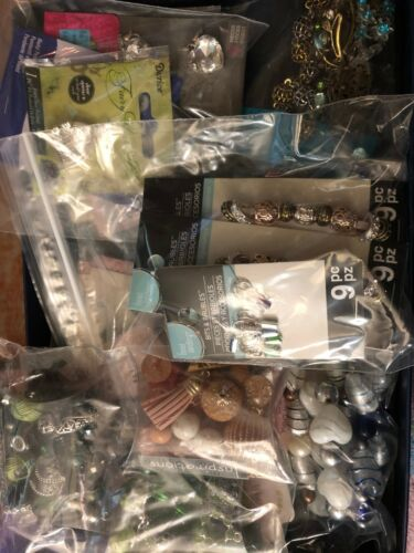 Pendants and more Charms Suprise Bag lot of Beads