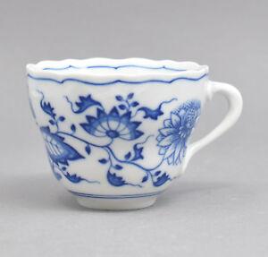 Hutschenreuther-Zwiebelmuster-Porzellan-Tasse-Kaffeetasse-Porcelaine