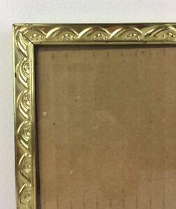 Other Vintage Goldtone Design Metal Picture Frame For 8x10