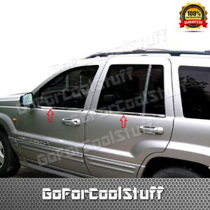 For 1999-2004 Jeep Grand Cherokee Stainless Steel Window Sills