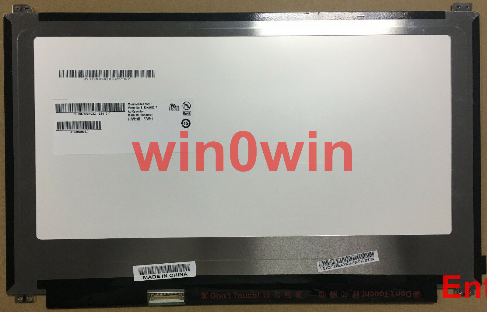 Details About B133HAN027 Fit B133HAN021 133 Inch Slim 30PIN EDP 1920X1080 LED LCD SCREEN