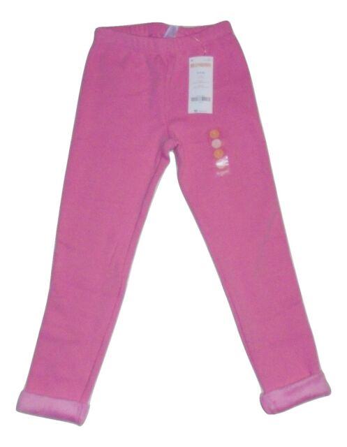 Gymboree Girls Warm Fuzzy Leggings Pink 4 5-6 NWT
