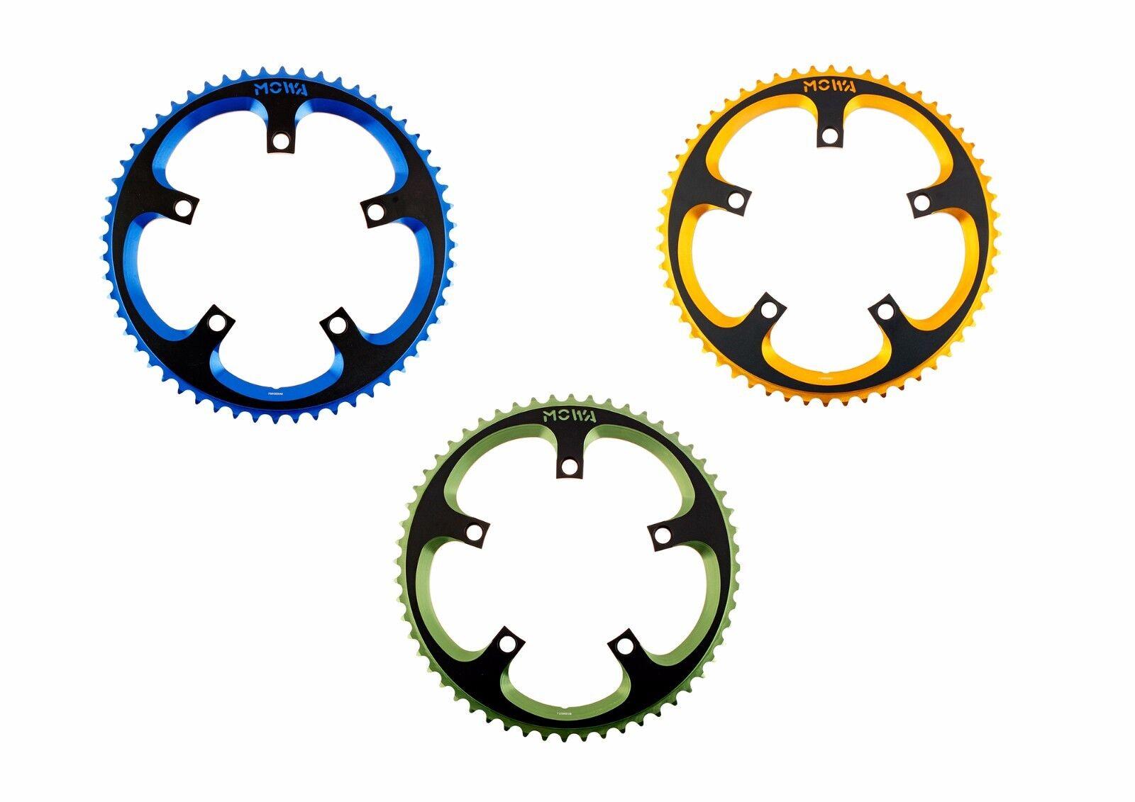 MOWA Plateau Vélo Route 56dts coloré CX Bicyclette Cyclisme Chainring 9v 10v