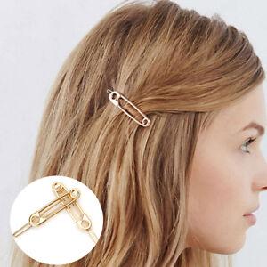 Trendy-Bridesmaid-Gold-Hair-Pin-Barrette-Clip-Hairpin-Paperclip-Headwear-Wedding
