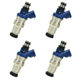 4pcs Fuel Injector FJ376 Fits for 1995-2000 Toyota Tacoma 2.4L-L4 23209-79085 23250-75040