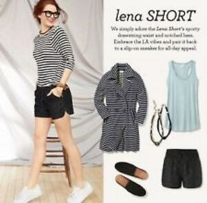 CAbi 2017 Lena Lace Short X-Small #5245 Black $99 Last One!