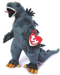 Ty Puppies Stuffed Animals, Ty Classic Beanie Babys Godzilla Plush Doll Black Eye Stuffed Toy Japan F S Ebay