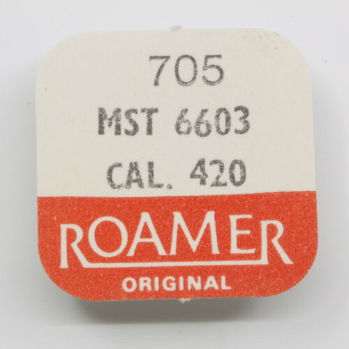 MST 6603 escape wheel MST Roamer 420 PART 705 Ankerrad