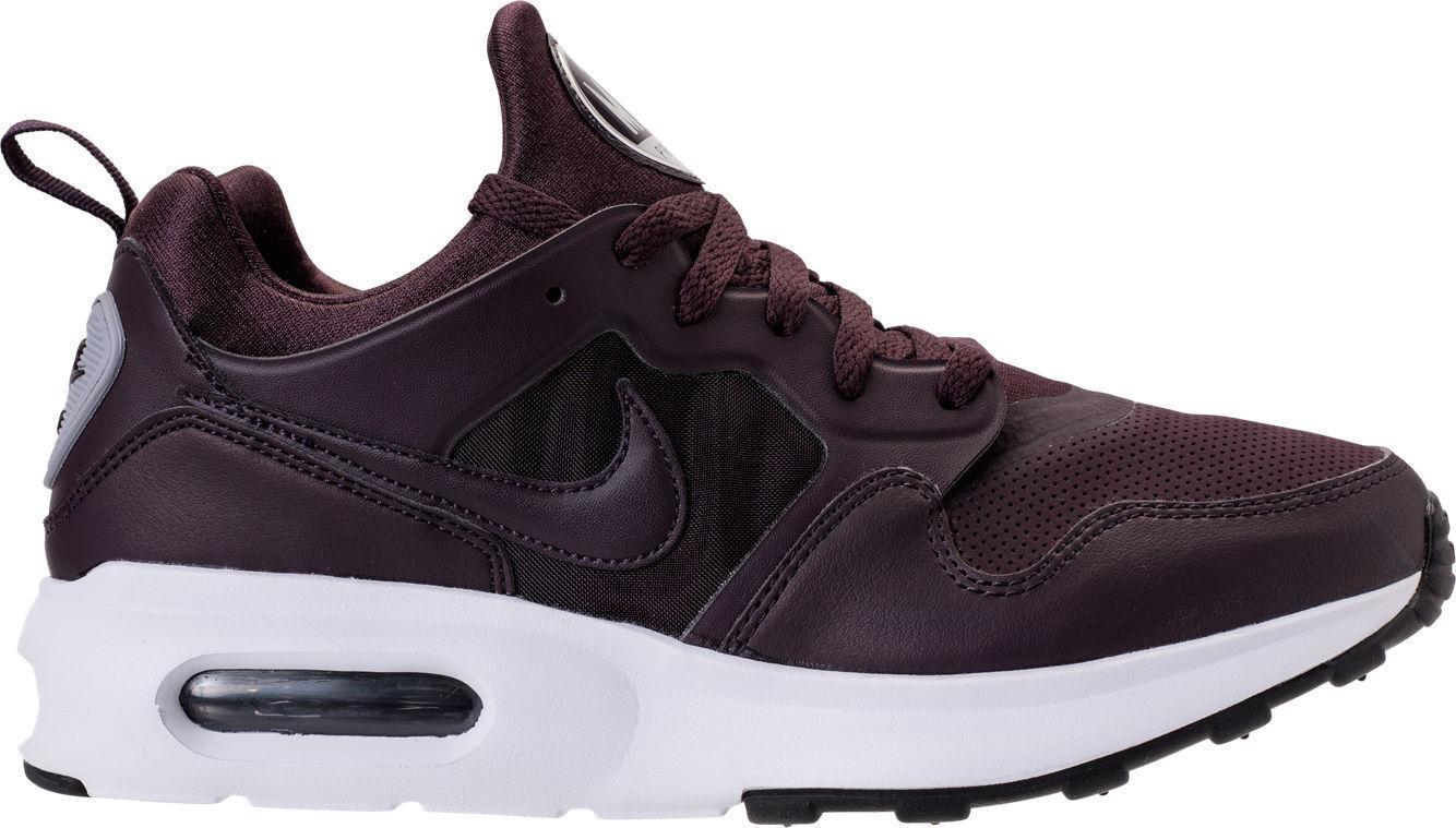 HERREN Nike Air Max Prime Sl Schuhe Port Wein Wolf Grau 876069 600 Msrp