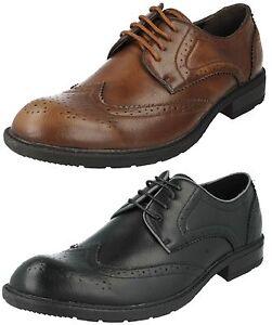 En Formal Lacets Ou Maverick A2125 Chaussures Hommes Marron Noir Vente Synthétique À Brogue WT0w8aaEnq