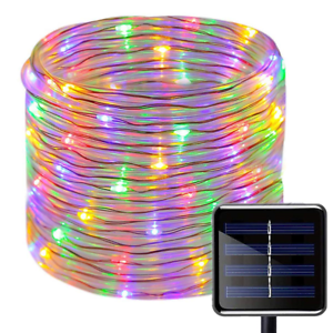 Details About Solar Powered 12m Led Rope Light Great For Swimming Pool Walkway Garden Stairs