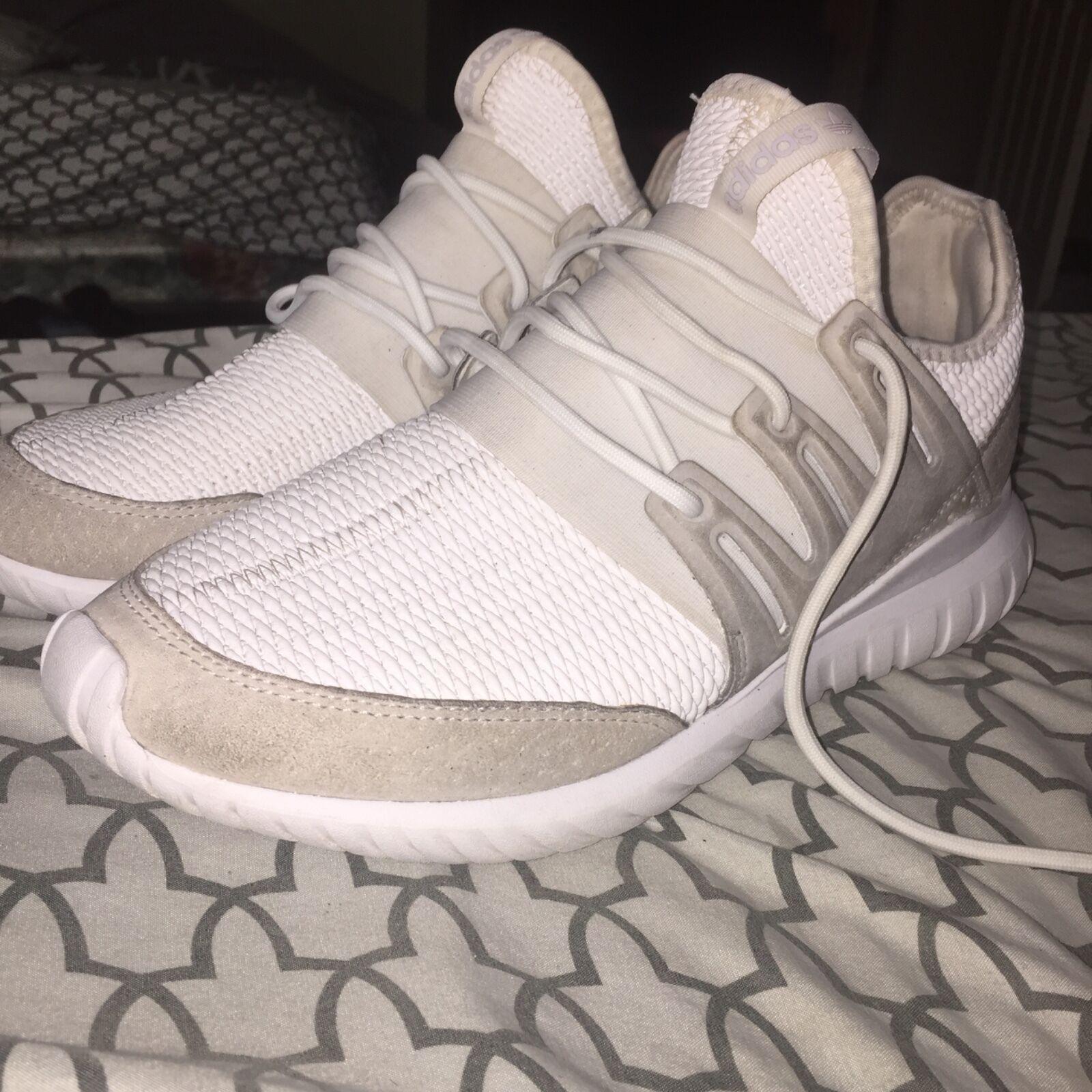 Adidas uomini tubulare radiale bianco noi uomini Adidas '8 1 / 2 indossato 5 volte, in buone condizioni cfdb47