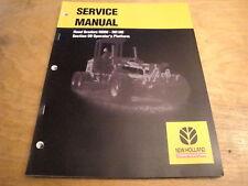 New Holland Rg80 Rg100 Road Grader Operators Platform Service Repair Shop Manual