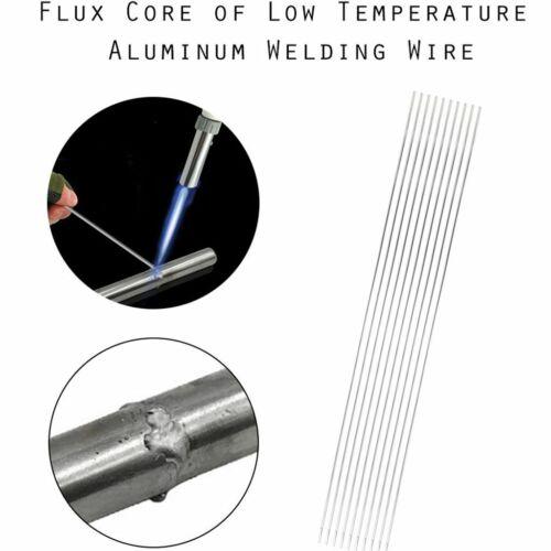 10-50PCS Super Melt Flux Cored Aluminum Easy Solution Welding Rods 1.6//2mmX50cm