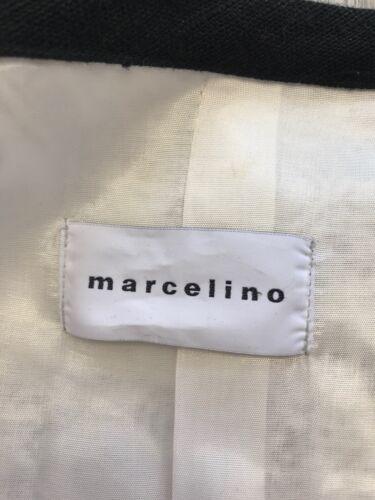 amp; Uk 40 Jacket White Ladies Black Size Linen Marcelino 12 O0vqEx8