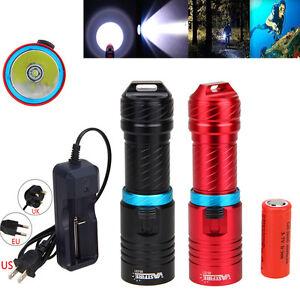 Impermeable-150m-10000Lm-XM-L-T6-LED-Scuba-Buceo-Linterna-Antorcha-Lampara-26650
