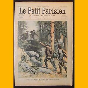LE-PETIT-PARISIEN-Supplement-litteraire-illustre-Contrebandiers-20-avril-1902