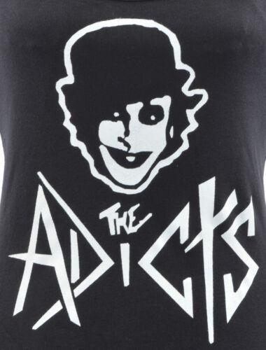 WOMENS PUNK STRAP VEST THE ADICTS DROOGS CLOCKWORK ORANGE ROCK 1977 S-2XL